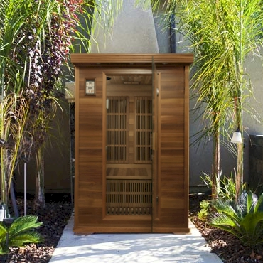 The Malibu Sauna Infrared Sauna From Coastal Saunas Inc